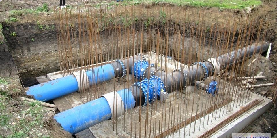 Завершено строительство  второго водовода для водоснабжения г. Каменск-Уральский (1 этап)