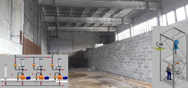 Начато строительство системы углевания на площадке Западной фильтровальной станции г. Екатеринбурга