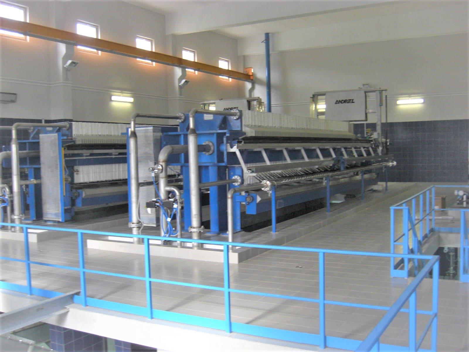 Сооружения обработки промывных вод и обработки осадков сооружений водопровода производительностью 60,0 тыс.м3/сут.