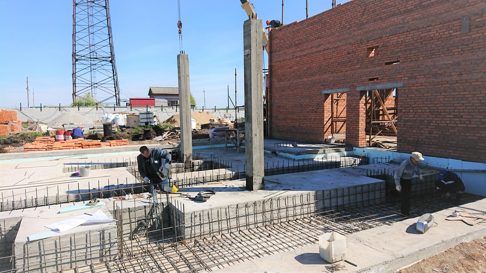 Строительство системы водоснабжения производительностью 1,2 тыс.м3/сут.