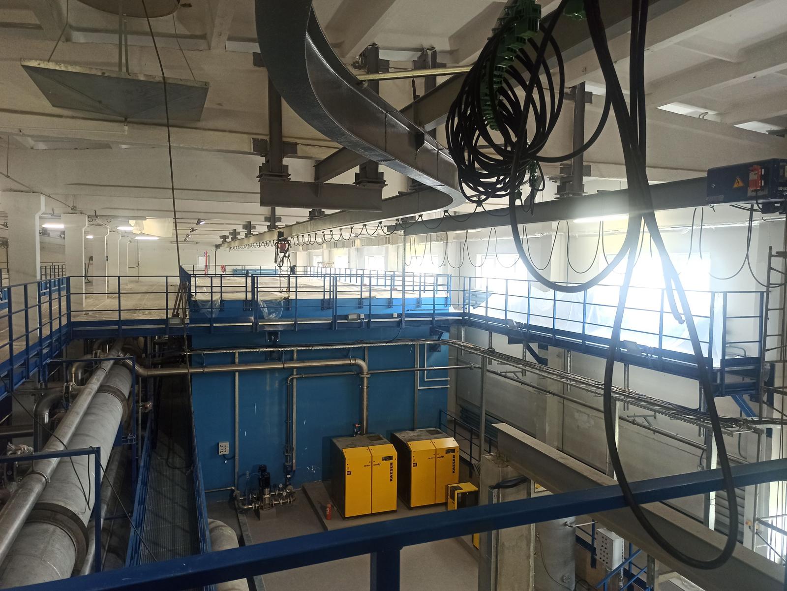 Реконструкция и модернизация очистных сооружений хоз-питьевого водоснабжения, производительностью 55,0 тыс.м3/сут.